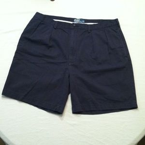 SIZE 40 POLO RALPH LAUREN NAVY MENS SHORTS